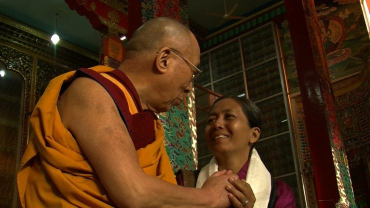 ,Dalai Lama & Me (2) Sera Jey, India 2013